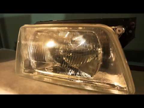 Opel kadett. Обзор фары Polcar