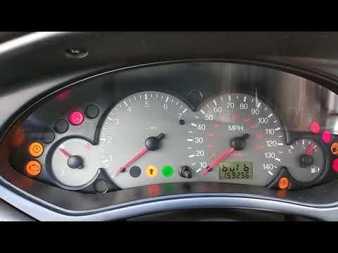 Диагностика Ford Focus 1 через приборную панель