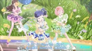getlinkyoutube.com-【HD】Aikatsu! - episode 27 - All 6 Girls vs Mizuki - Shining Sky of The G String【中文字