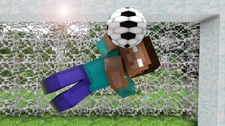 getlinkyoutube.com-Monster School : Penalty Shootout ! - Minecraft Animation