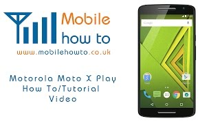 getlinkyoutube.com-How To Set/Change Wallpaper/Background - Motorola Moto X Play