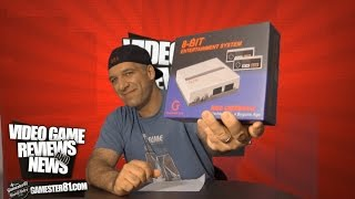 New 8-Bit Entertainment System Review - Gamester81
