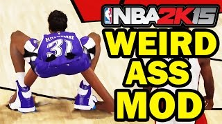 getlinkyoutube.com-Funniest MyPlayer Mod Ever! NBA 2K16 2K15 - Funny Gameplay HD 60 FPS