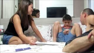 getlinkyoutube.com-Revelando a Gravidez ao Papai e a Familia