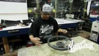 getlinkyoutube.com-West Coast Customs - Ish Steering Wheel Wrap