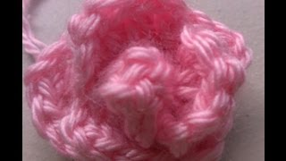 getlinkyoutube.com-Easy Crochet rosebud