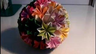 getlinkyoutube.com-كيف تصنع كرة من الورق؟