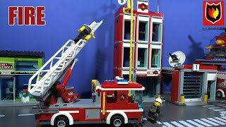 LEGO CITY FIRE FILMS