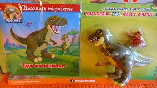2015 Dinosaurs and Friends World Collection No 1 & 2 Dino Toy Unboxing