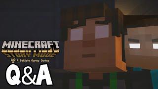 getlinkyoutube.com-Minecraft Story Mode - Will We See HEROBRINE ?