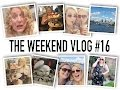 The Weekend Vlog #16 - PENCIL CURLS, PRETTY DRESSES AND PIMMS