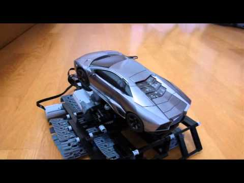 Lego Technic Incline Car Ferrari 599GTO Red 7