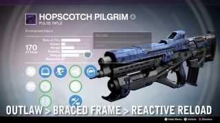 getlinkyoutube.com-Destiny 2.0 Weapon Review - Hopscotch Pilgrim: Outlaw + Braced Frame + Reactive Reload