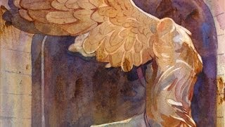 getlinkyoutube.com-Watercolor Class with Susan Avis Murphy, AWS: Painting The Winged Victory with the Rivulet Technique