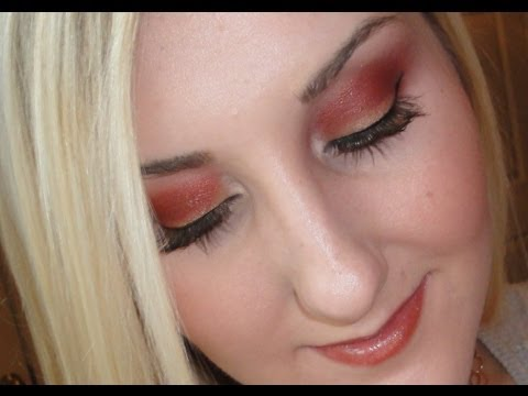 Fiery Copper & Gold Makeup Tutorial for Fall