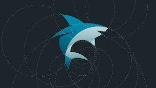 getlinkyoutube.com-Shark Logo Design Tutorial with Circular Grid