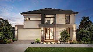getlinkyoutube.com-Diseño de casa moderna de dos pisos, fachada e interiores