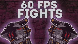 getlinkyoutube.com-[SuperMechs] 60 FPS FIGHTS!!! Part 2.
