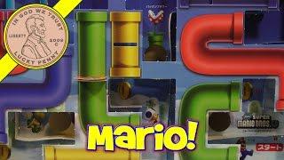 getlinkyoutube.com-Super Mario Brothers U Game Board! CoroCoro Comic Magazine