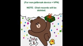 Get LINE free sticker ( For non-jailbreak device + VPN )