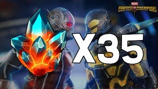 getlinkyoutube.com-35x Premium Hero Crystal Opening! - 22nd Birthday Edition - Marvel Contest Of Champions