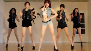 getlinkyoutube.com-Hyuna - Red KPOP dance cover by Secciya (S.O.F)
