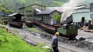 getlinkyoutube.com-Banovici Coal Mine - Bosnian Narrow gauge Steam in Spring Sunshine