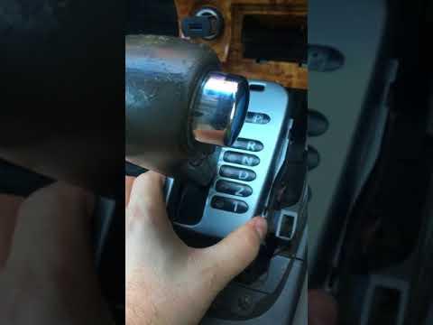 Замена подсветки (лампочки) АКПП Nissan ... Sylphy 2001 г. кузов QG10