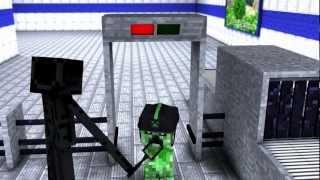 getlinkyoutube.com-Minecraft - Creeper Vacation