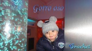 getlinkyoutube.com-CROCHET: GORRO OSO CON POMPONES