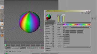 getlinkyoutube.com-Cinema 4D Materials 01 - Enhanced Color Table, Color, Brightness, Gradient