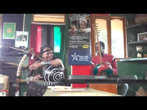 Mama C and Emma Maasai Mollel improvisation jam 2