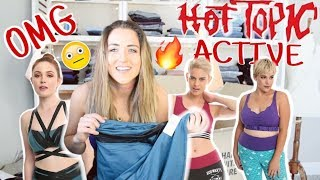 I Tried Hot Topic Activewear! I SPENT $300 ON THAT?? Goth Goes Fit.