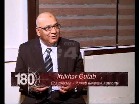 180 Degree Chairman Punjab Revenue Authority Iftikhar Qutab With Ahmed Pervaiz Ep 02 Part 02 City42
