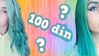 getlinkyoutube.com-Kako se ofarbati u tirkizno za samo 100 dinara?? | Enn La Rush