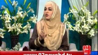 Subh e Noor - 13-03-16-92News HD