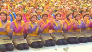 getlinkyoutube.com-Tari saman 6600 Orang di TMII TGL. 24 APRIL 2016