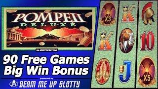 getlinkyoutube.com-Pompeii Deluxe Slot - 90 Free Games, Multiple Re-Triggers, Big Win Bonus