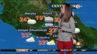 getlinkyoutube.com-Raquel Mendez Leggin Red 04/09/2015
