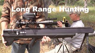 getlinkyoutube.com-.357 Benjamin Bulldog vs .25 Hatsan BT65 - Long Range Ground Squirrel Hunting
