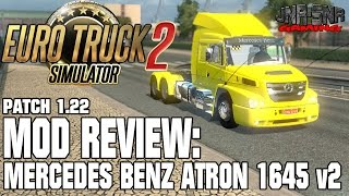 getlinkyoutube.com-EURO TRUCK SIMULATOR 2 █ MOD REVIEW █ Mercedes Benz Atron 1635 v2