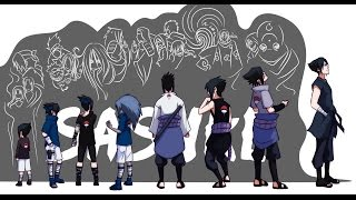 Naruto: Uchiha Sasuke's Evolution - all forms