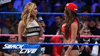 getlinkyoutube.com-Carmella says John Cena is the only reason Nikki Bella is a success: SmackDown LIVE, Oct. 18, 2016