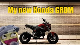 getlinkyoutube.com-My new Honda GROM!