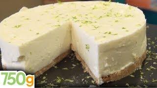 getlinkyoutube.com-Recette de Cheesecake au citron vert sans cuisson - 750 Grammes