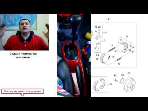 Примерзание колодок тормозных механизмов задних колёс Daewoo Matiz 0.8L-1.0L МКПП и АКПП