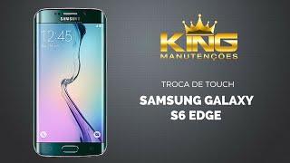 getlinkyoutube.com-Assistência Samsung Troca Tela Touch Vidro S6 Edge