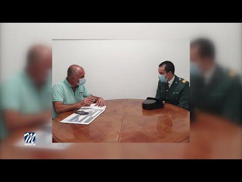 Reunión con el sargento de la guardia civil