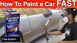 getlinkyoutube.com-How To Paint Any Car Yourself - Step-by-Step Car Painting in 12 Minutes!