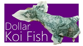getlinkyoutube.com-Dollar Koi Fish Origami Tutorial (Won Park)